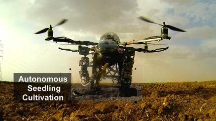 (Green Darner) Multirole Autonomous flying Robots