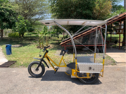 Solar e-Cycles Empowering people 2021