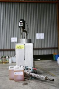 Aedes Biobased Biodiesel Fuel: A greener alternative to diesel for fogging