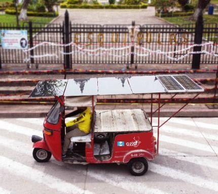 Solar TUK TUK