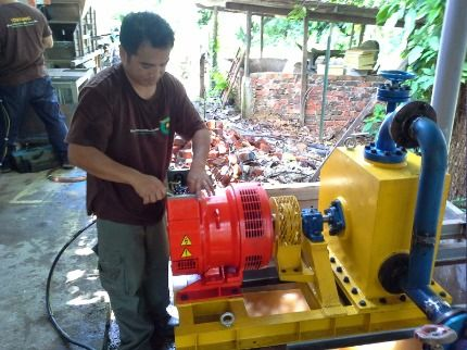 Electric supply from micro hydro for rural communities