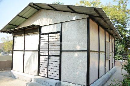 Low Cost Recycled Plastic Shelter Solutions