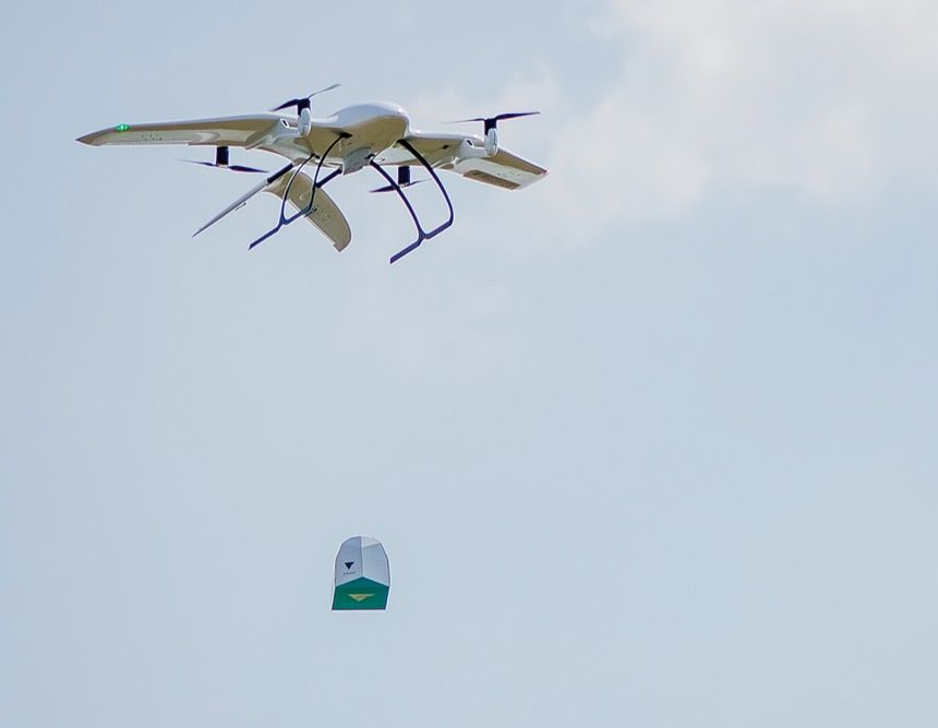 Wingcopter: Saving lives with every flight