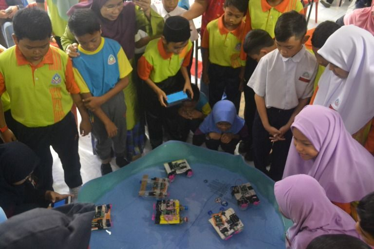 Children-led climate change adaptive initiative: GreenROSE@Putrajaya 2018 and 2019