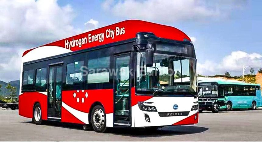Hydrogen Fuel Cell Buses: First in Southeast Asia